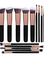 cheap -14 Pcs makeup brush sets eye shadow brushes set of 5 large and 9 small makeup brushes beauty tool brushes