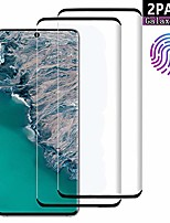 cheap -screen protector for galaxy s20 [full coverage] [fingerprint sensor compatible] [hd screen] tempered glass film for samsung galaxy s20-2 pack