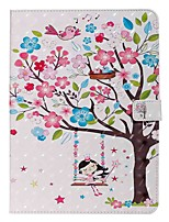 cheap -Case For Apple iPad Pro (2020) 11'' iPad 7 (2019) 10.2'' iPad Air 3 (2019) 10.5'' Wallet Card Holder with Stand Girl Under the Tree PU Leather TPU for iPad 5 (2017) 9.7'' iPad 6 (2018) 9.7