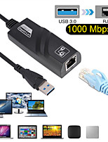 cheap -Wired USB 3.0 To Gigabit Ethernet RJ45 LAN (10/100/1000) Mbps Network Adapter Ethernet Network Card For PC Notebook