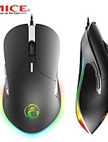 cheap -Imice X6 High Configuration USB Wired Game Mouse PC Game Player 2400 DPI