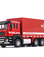 cheap -Alloy Container Truck Toy Truck Construction Vehicle Transport Car Toy Simulation Music & Light All Adults Kids Car Toys
