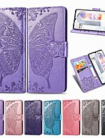 cheap -Case For LG K61 Stylo 6 K51S Wallet Card Holder with Stand Full Body Cases Butterfly PU Leather Case For LG K41S Q70 K50S K40S K30  K20 (2019) W10 W30 K50 Q60 Stylo 5 K40 G8 ThinQ V50 Stylo 4