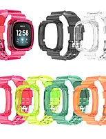 cheap -Watch Band for Fitbit Versa 3 / Fitbit Sense Fitbit Sport Band Silicone Wrist Strap