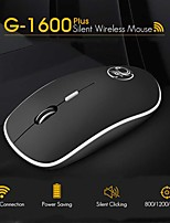 cheap -G-1600 Ergonomic Mouse Wireless Mouse Computer Mouse PC USB Optical 2.4Ghz 1600 DPI Silent Mause Mini Noiseless Mice For PC Laptop