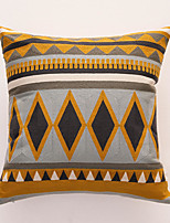 cheap -Cotton Canvas Towel Embroidered Pillow Case Nordic Simple Single Pillow Case Cover Living room Bedroom Sofa Pillow Case cover
