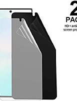 cheap -[2-pack] galaxy note 20 screen protector tpu anti-spy film [ultrasonic fingerprint compatible], self healing, full coverage, privacy/hd screen protector for samsung galaxy note 20