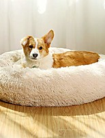 cheap -dog beds for medium dogs donut calming dog bed washable, comfortable round cute durable pet beds with removable pillow