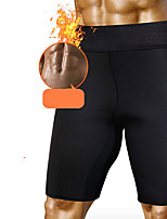 cheap -Slimmer Hot Neoprene Shorts Sports Nylon Neoprene Yoga Gym Workout Pilates Stretchy Weight Loss Tummy Fat Burner Hot Sweat For Men