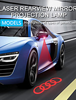 cheap -H18 Car Rearview Mirror Taillights Project Multiple Patterns Shooting star Etc Laser Light Foglight Strong Penetrability Safety 8 Patterns To Choice 1PCS For Audi Honda Volkswagen Toyota Nissan Etc