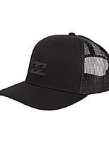 cheap -men's all day adjustable mesh back trucker hat, white, one size