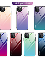 cheap -Case For Apple iPhone 12 / iPhone 12 Mini / iPhone 12 Pro Max Shockproof Back Cover Color Gradient TPU