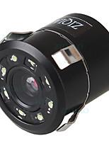 cheap -ZIQIAO Car Reverse Rear View Camera Universal Waterproof Night Vision HD Parking Backup Camera HS017