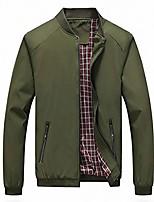 cheap -mens bomber jacket casual slim fit softshell outdoor windbreaker lightweight flight jacket coat