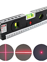 cheap -4-in-1 Laser Level Aligner Vertical Horizontal Lasers Precise Marking Line Locking Tape Measure Ruler Construction Tool