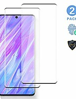 """cheap -2 pack s20 glass screen protector, support fingerprint recognition,tempered glass 3d full edge covered, 9h hardness case friendly glass protector, for galaxy s20 (6.2"""")"""