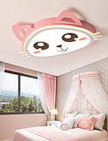 cheap -52 cm Cartoon Ceiling Light Eye Care Lovely Children's Bedroom Modern Fashion Led Kitten Cartoon Cat Lamps