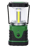 cheap -1280 Camping Lanterns & Tent Lights 500 lm 1 Emitters 3 Mode Portable LED Easy Carrying Durable Camping / Hiking / Caving Everyday Use Fishing Green
