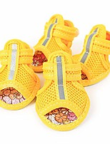 cheap -pet dog summer shoes breathable mesh puppy outdoor shoes soft sandals