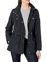 cheap -women's spring jacket coat, black/gold, m