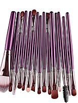 cheap -2020 summer clearance 15 pcs/sets eye shadow foundation eyebrow lip brush makeup brushes tool pp wizard wand brushes 5 tapered blendsmart2: powered spin head blending contouring