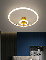 cheap -42 cm LED Ceiling Light Round Shape Nordic Style Bedroom Lamp Luxury Study Room Lamp Modern Simple Atmosphere Lamps