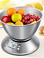 cheap -Stainless Steel Measuring Bowl High-precision 5kg1g Baked Food Gram Scale Removable Split Scale