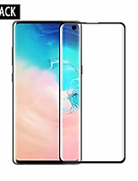 cheap -2-pack hd galaxy s10 screen protector [fingerprint id enabled] tempered glass[3d full edge covered] [9h hardness] case friendly glass protector for samsung galaxy s10