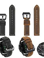 Недорогие -кожаный ремешок для часов samsung galaxy watch 3 45 мм / 41 мм / часы galaxy 46 мм / 42 мм / gear s3 classic / frontier / active 2 / gear sport / gear s2 classic сменный браслет ремешок на запястье