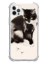 cheap -Animal Cartoon Case For Apple iPhone 12 iPhone 11 iPhone 12 Pro Max Unique Design Protective Case Shockproof Back Cover TPU