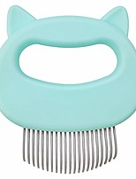 cheap -cat comb massager relaxing pet brush dog grooming deshedding hair removal open knot massage comb safe dematting comb for easy mats & tangles removing - no more nasty shedding and flying hair