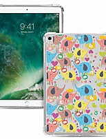 cheap -Case For Apple iPad Pro 11 2020 Shockproof Transparent Pattern Back Cover Animal TPU iPad 10.2 Pro 10.5 2019 Air 9.7 ipad 234 mini 12345 7.9