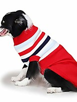 cheap -muyaopet large dog sweaters shirt for cold weather pet winter knitwear clothes for labrador golden retriever (20, red)