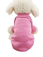 cheap -boomboom pet dog clothes, newest warm soft pet dog sweaters (pink, s)