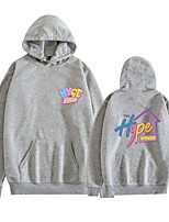 cheap -Inspired by Cosplay Hype House Hype House Hoodie Polyster Top For Unisex