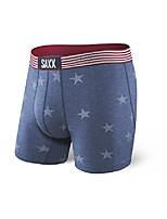 cheap -saxx underwear men's boxer briefs – vibe boxer briefs with built-in ballpark pouch support – underwear for men,chambray americana,xx-large
