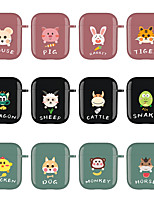 cheap -Cartoon Headphone Case for Airpods 1&2 Case Shockproof Bluetooth Wireless Earphone Protective Cover