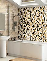cheap -10PCS European-style ceramic tile sticker house renovation DIY self-adhesive PVC wallpaper kitchen waterproof and oil-proof wall sticker