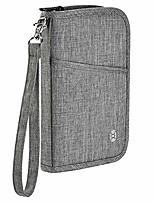 cheap -travel wallet  family passport holder rfid blocking zipper passport wallet for man and women (s)