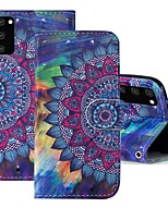 cheap -Case For Samsung Galaxy S20 FE Wallet Card Holder with Stand Full Body Cases Flower PU Leather Galaxy S20 Plus Note 20 Ultra J2 Core A01 A11 A21S A31 A41 A51 A71 A81 A91