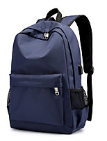 cheap -Travel Bag Laptop Backpack College Bookbag Large Capacity Waterproof with USB Charging Port Casual Outdoor Travel Nylon Fits 15.6 Inch Laptop Gift For Men and Women 30*45*14 cm