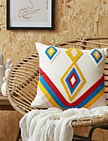 cheap -Pillow Case Cover Retro Towel Embroidered Home Office Geometry Pillow Case Cover Living Room Bedroom Sofa Cushion Cover