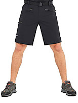 cheap -Hiking Shorts Summer Outdoor Breathable Quick Dry Sweat-wicking Wear Resistance Cargo Pants Bottoms Camel Black Dark Blue Camping / Hiking Hunting Fishing 35 36 38 29 30