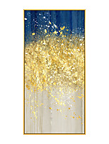 cheap -100% Hand Painted Modern Abstract Oil Painting Large Hand Painted Abstract Painting Golden Painting Abstract Canvas for Wall Art Office Decoration