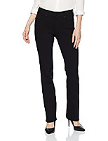 cheap -women's ponte marilyn straight pant, black, 00