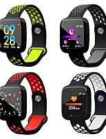 cheap -F15 1.3 Ips Color Screen Waterproof Smart Watch Heart Rate Monitor Fitness Bracelet
