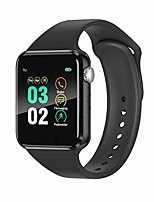 cheap -smart watch compatible ios iphone android samsung,  bluetooth smart watch touchscreen fitness activity tracker with camera sleep monitor step counter sim sd card slot for women men (black)