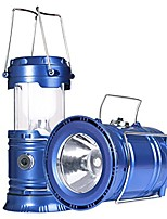 cheap -led camping lantern rechargeable solar lanterns collapsible bright lamp outdoor flashlight portable for camp hurricanes emergencies blue