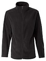 cheap -5301l ladies full-zip micro-fleece, onyx black, medium