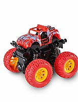 cheap -push cars for toddlers,monster truck toy cars for boys,360 degree rotation pull-back cars,4 wheels drive car for kids,durable car toys for child,gift for boys girls birthday party (red)